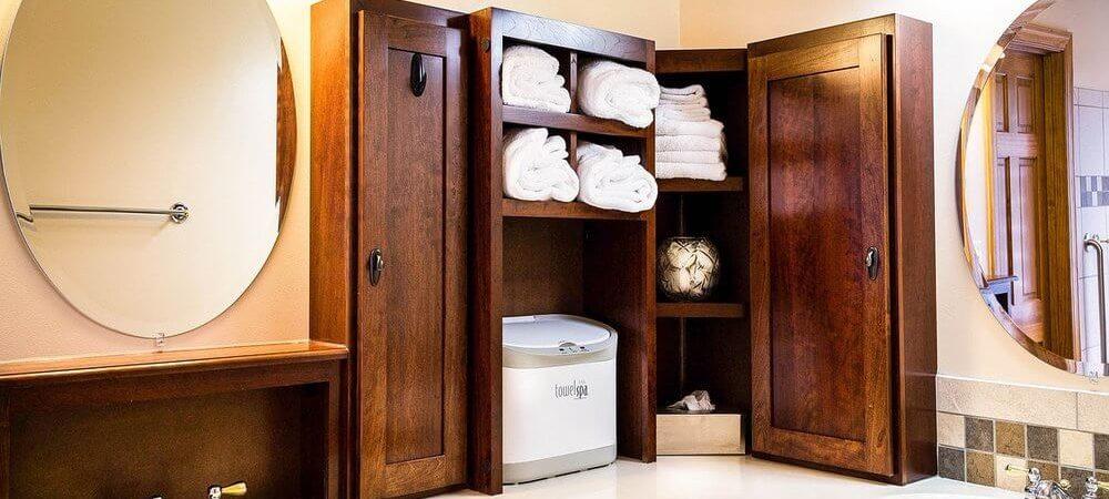 zdjęcie do artykułu drewno w łazience jak pielęgnować