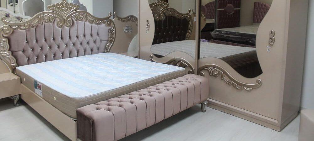 zdjęcie do artykułu sypialnia w stylu glamour