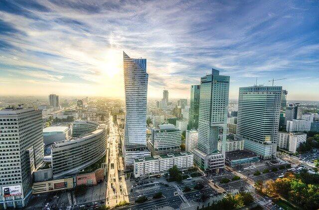 zdjęcie do artykułu wieżowce Warszawa